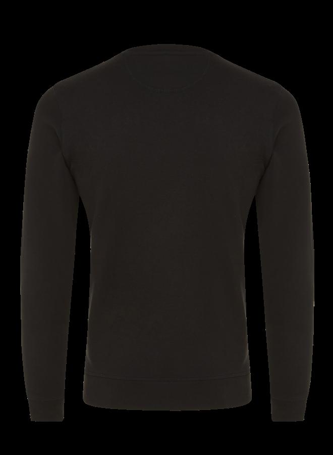 Sweater basic zwart