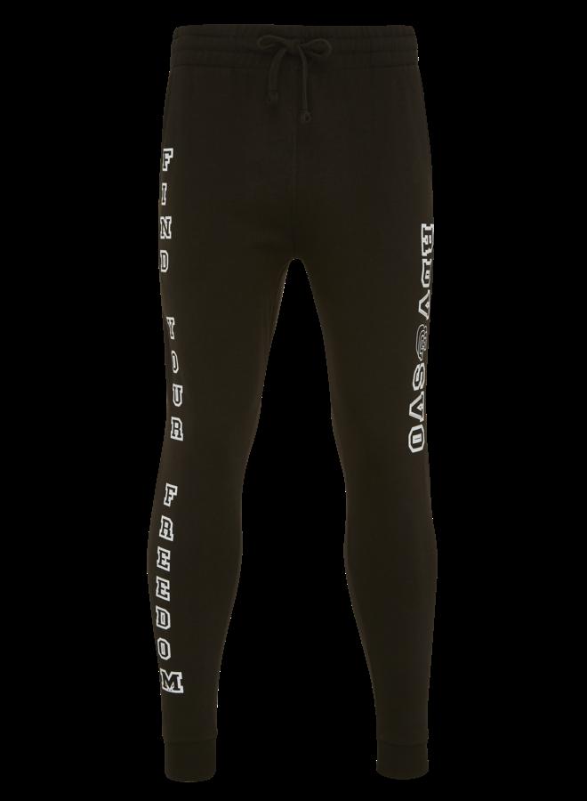 Joggingsbroek zwart