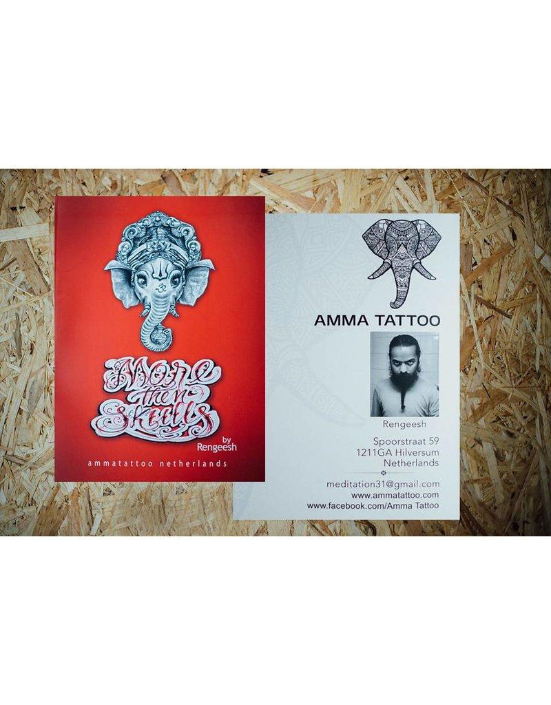Amma Tattoo - More Then Skulls By Rengeesh