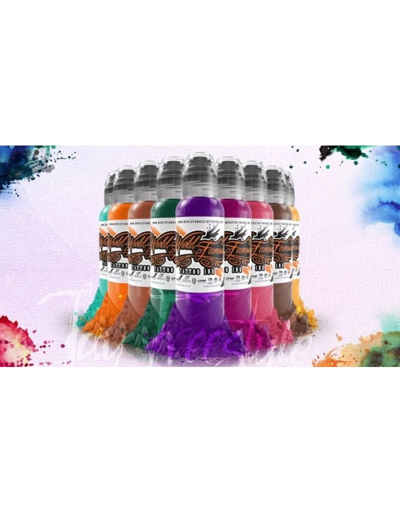 WORLD FAMOUS INK® Jay Freestyle Watercolor Set