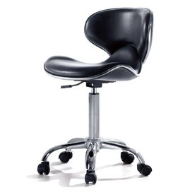 BUCKET chair with  backrest - black