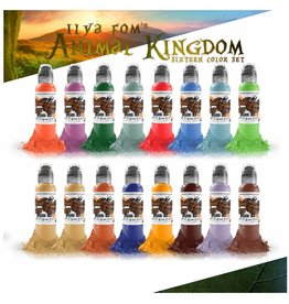 WORLD FAMOUS INK® ILya Foam Animal Kingdom Set 16x30ml