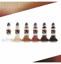 WORLD FAMOUS INK® - Michele Turco Portrait Set 6 x 30ml