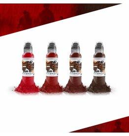 WORLD FAMOUS INK® Maks Kornev's Blood Color Set - 1oz - 4x30ml