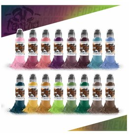 WORLD FAMOUS INK® - A.D. Pancho ProTeam Colorset - 16x30ml