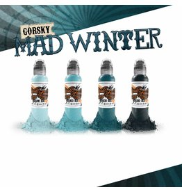 WORLD FAMOUS INK® Gorsky's Mad Winter Set - 1oz - 4x30ml