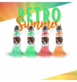 WORLD FAMOUS INK® Gorsky's Retro Summer Set - 1oz - 4x30ml
