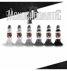 WORLD FAMOUS INK® Poch's Monochromatic Tone Color Set - 1oz - 6x30ml