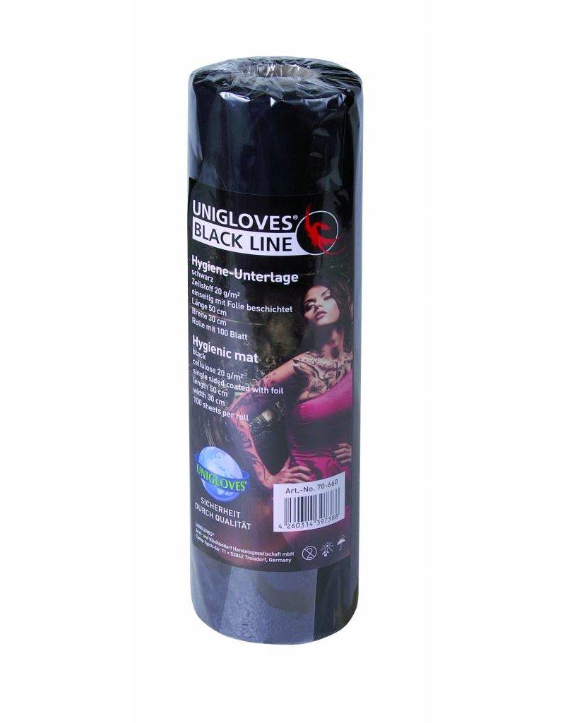 Unigloves®  Bankbedekking / Bankroll cover met folie