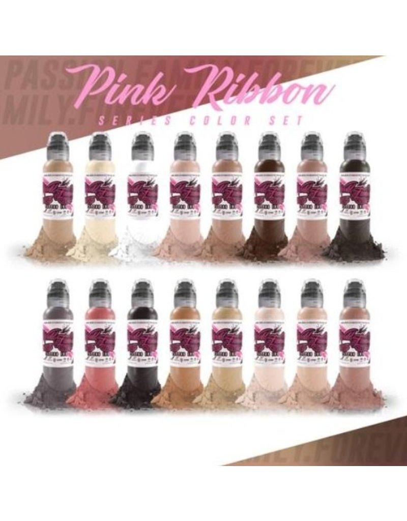 WORLD FAMOUS INK® Pink Ribbon Set 16 x 30ml