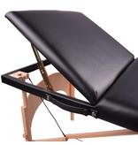 Massage & tattoo portable table - wood