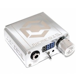 NEMESIS™ NEMESIS Tattoo Power Supply - silver
