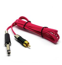 RCA cord with jack HIGHLINE - pink