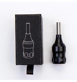 Ergonomic Aluminium Grip for tips  - black