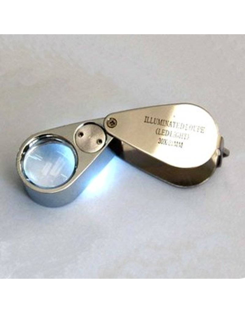 Magnifier x30 with Lamp
