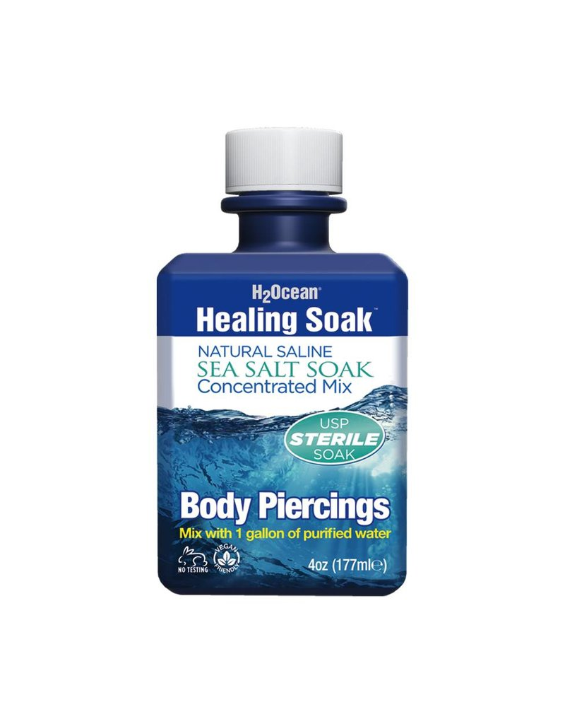 H2Ocean® 4oz Healing Soak Sea Salt Concentrate