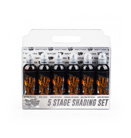WORLD FAMOUS INK® 5 Stage Shading SET 6 x 120ml