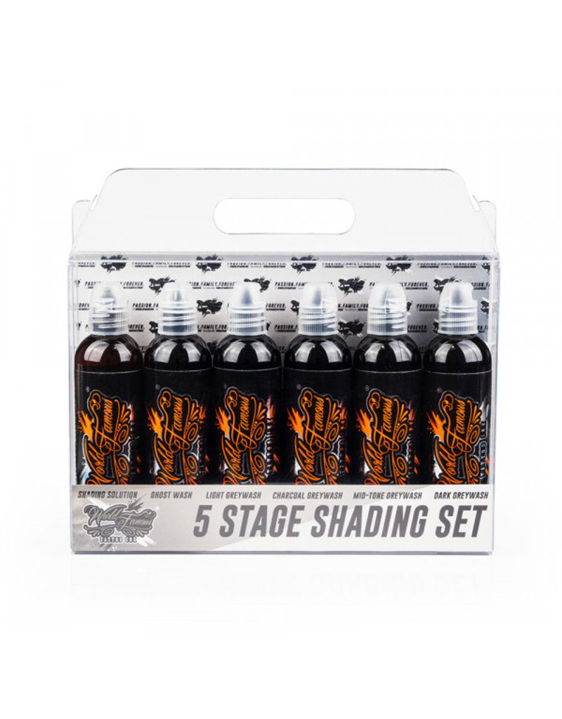 WORLD FAMOUS INK® 5 Stage Shading SET