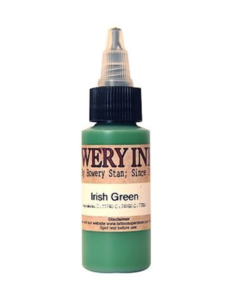 INTENZE Bowery Ink Irish Green