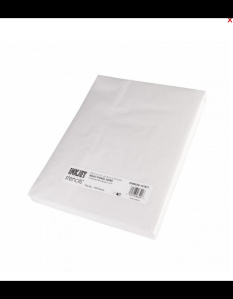 InkJet Stencils® Stencil Papier - 500 SHEETS