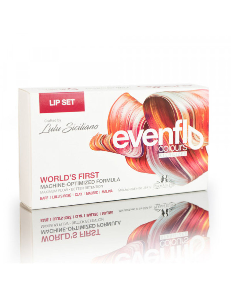 PERMA BLEND Evenflo Lip Set 5 X 15ML