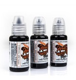 WORLD FAMOUS INK® Charcoal Greywash SET 3 x 60ml