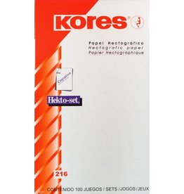 KORES® Kores hectographic paper 10pcs