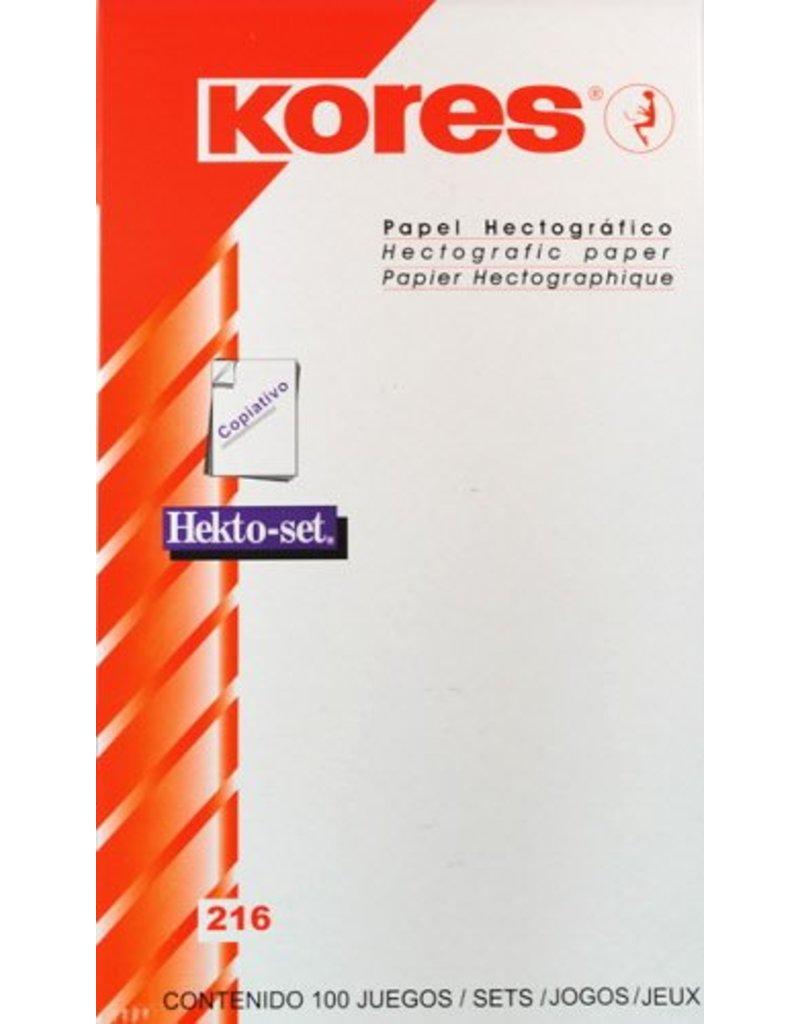 KORES® Kores hectographic paper 10pcs