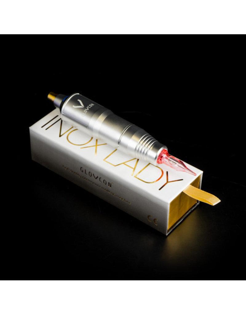 Glovcon V2 Inox Lady Pen + Nemesis Silver SET