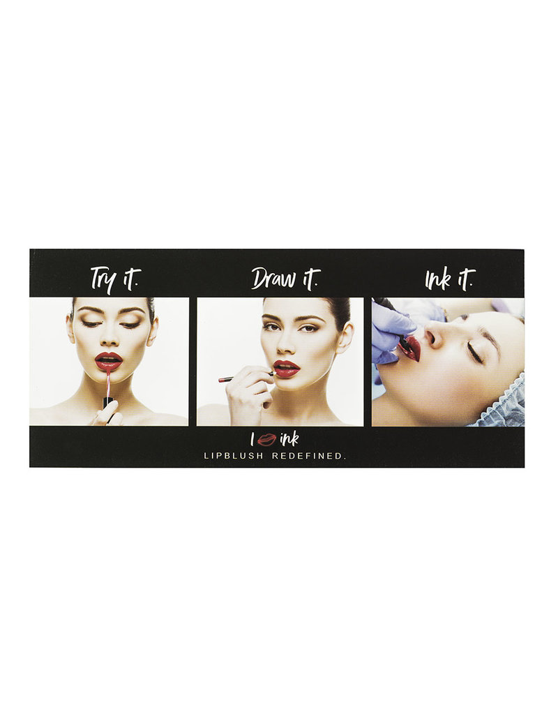 PERMA BLEND The Tina Davies  INK LUST Lip Collection  6 x 25ml