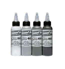 ETERNAL INK ETERNAL INK - Neutral Gray Set 4x30ml