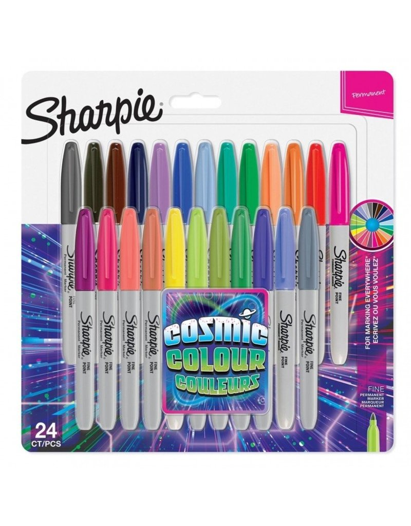 Sharpie Single Markers Cosmic Color - box of 24pcs