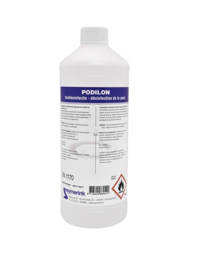 Podilon 80% Alcohol Skin Desinfection