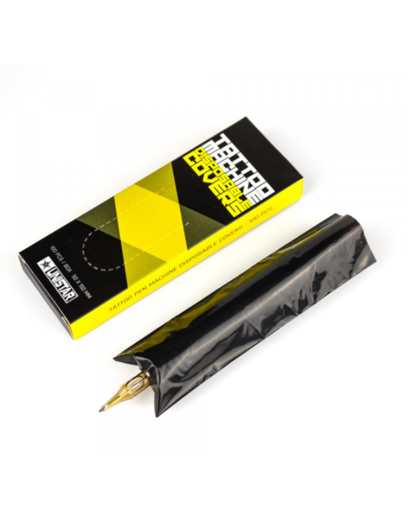 UNISTAR™ Unistar Tattoo Pen Machine Disposable Covers / 100pcs