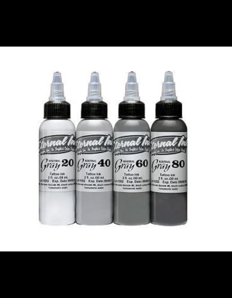 ETERNAL INK ETERNAL INK - Neutral Grey Set 60%