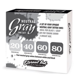 ETERNAL INK ETERNAL INK - Neutral Grey Set 80%