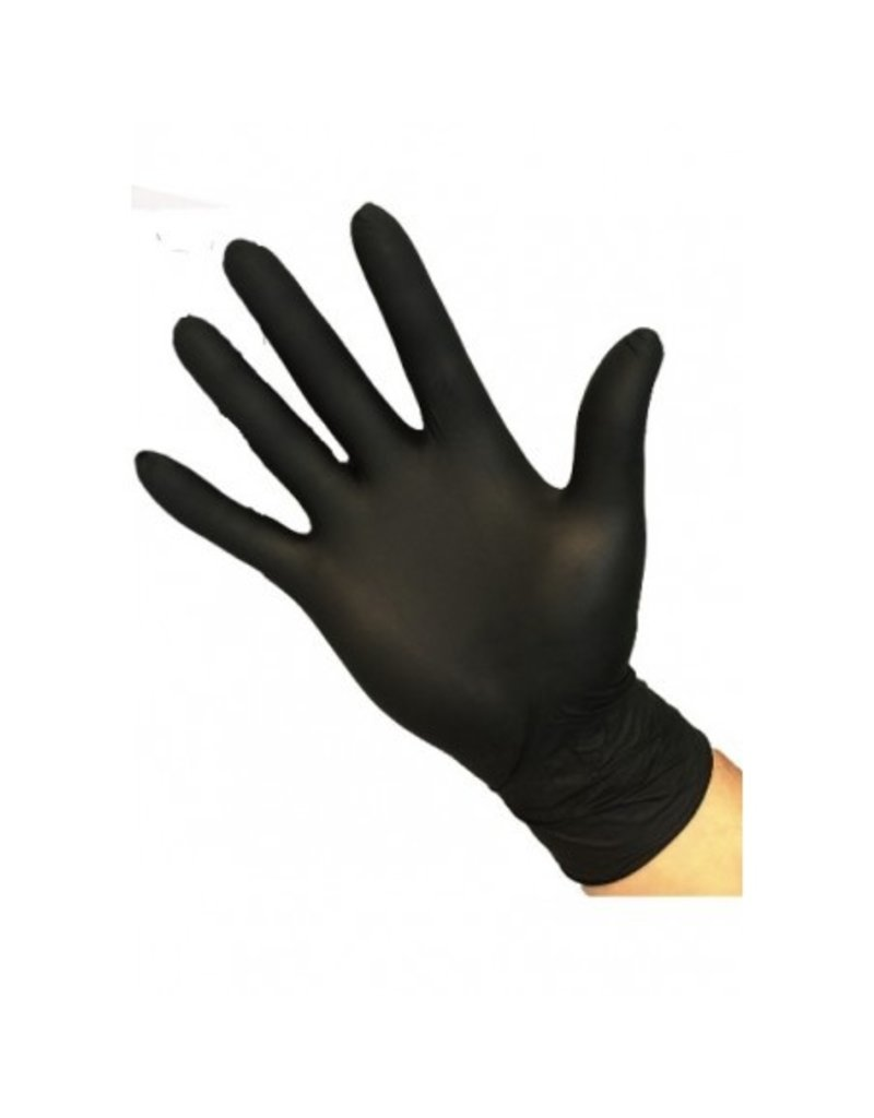 Safe Touch Nitril Gloves Black