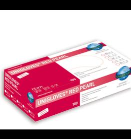 Unigloves®  Red Pearl Nitrile Handschoenen