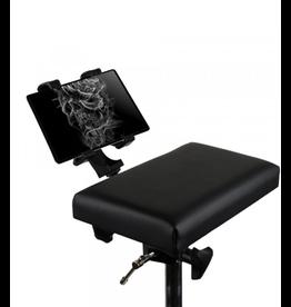 Tablet Holder Shelf Mounted to Armrest