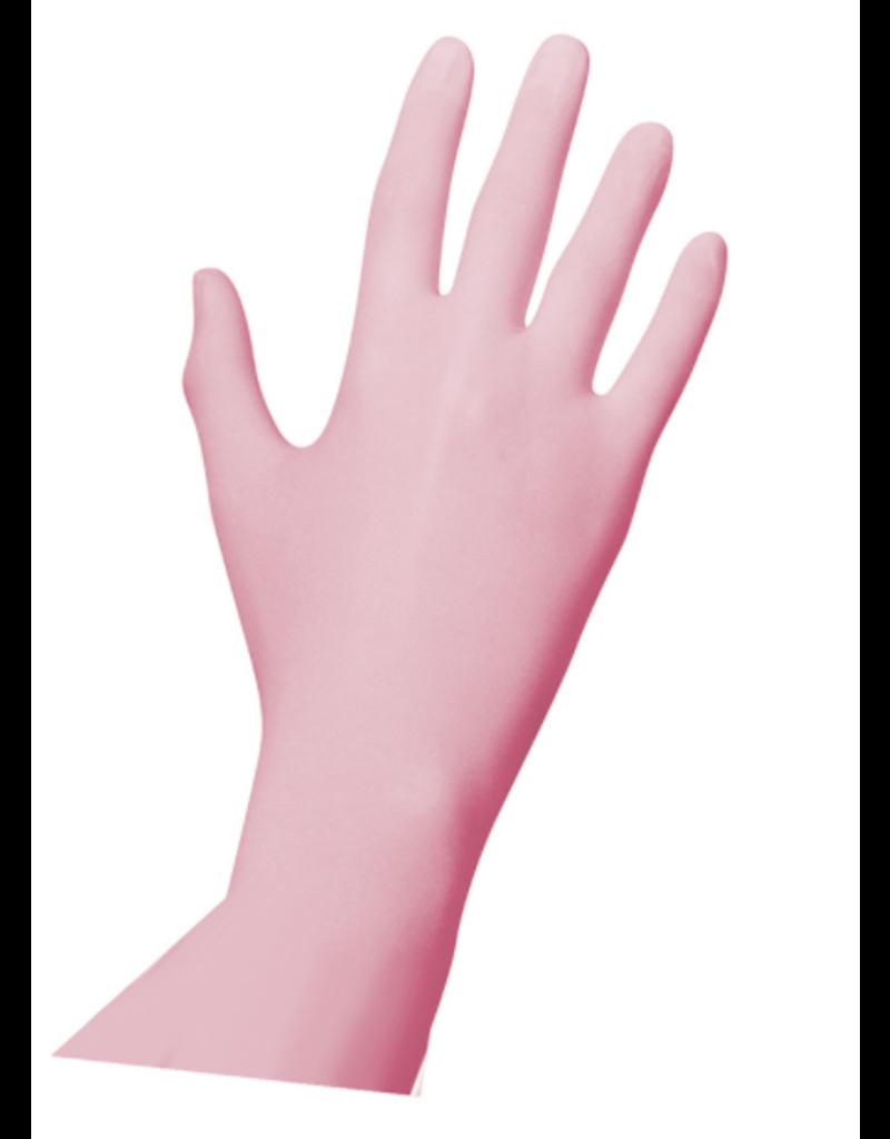 Unigloves®  Pink Pearl Nitrile Handschoenen