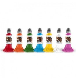 WORLD FAMOUS INK® World Famous Primary Simple Set 7 x 30ml