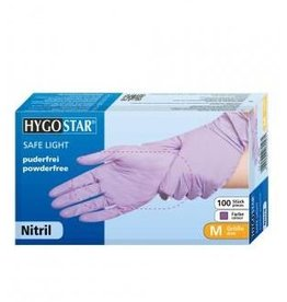 HYGOSTAR® Nitrile gloves purple