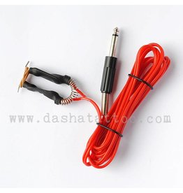 Basic Clipcord with jack plug - red