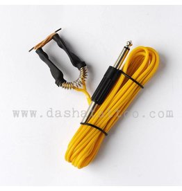 Basic Clipcord with jack plug - yellow