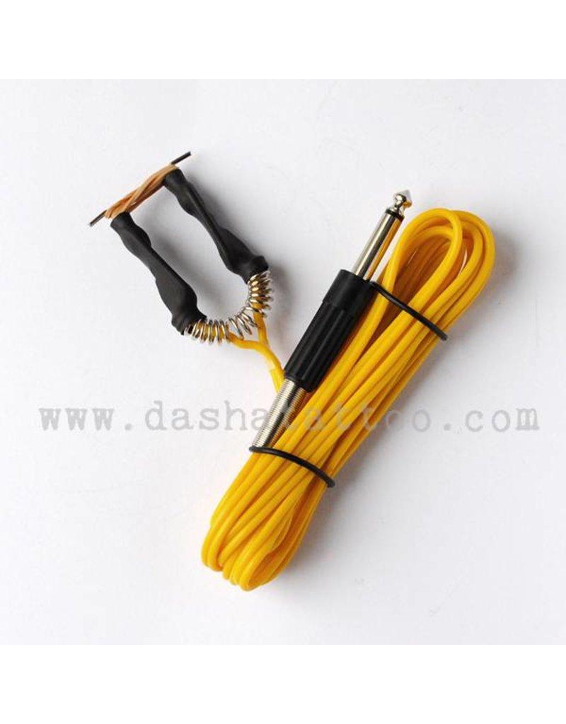 Basic Clipcord with jack plug - yellow