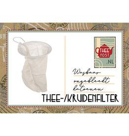 Katoenen  thee- en/of kruidenfilter
