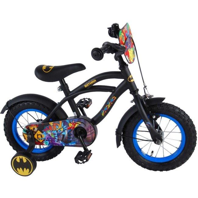 Batman Zwart 81234 Jongensfiets Kinderfiets 12 Inch