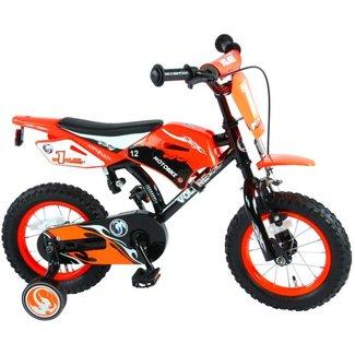 Volare Volare Motorbike Oranje 91214 Jongensfiets Kinderfiets 12 Inch