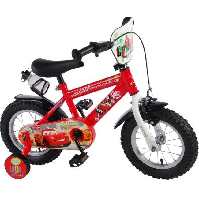 Disney Cars 2 11248-CH-NL Jongensfiets Kinderfiets 12 Inch
