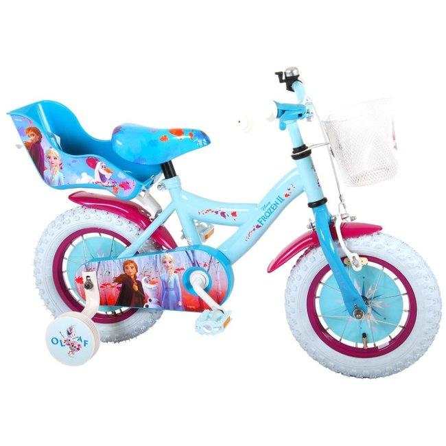 Disney Frozen 2 91250 Meisjesfiets Kinderfiets 12 Inch